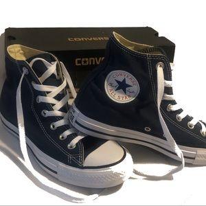 Converse All Star Chuck Taylor High Tops Navy Blue
